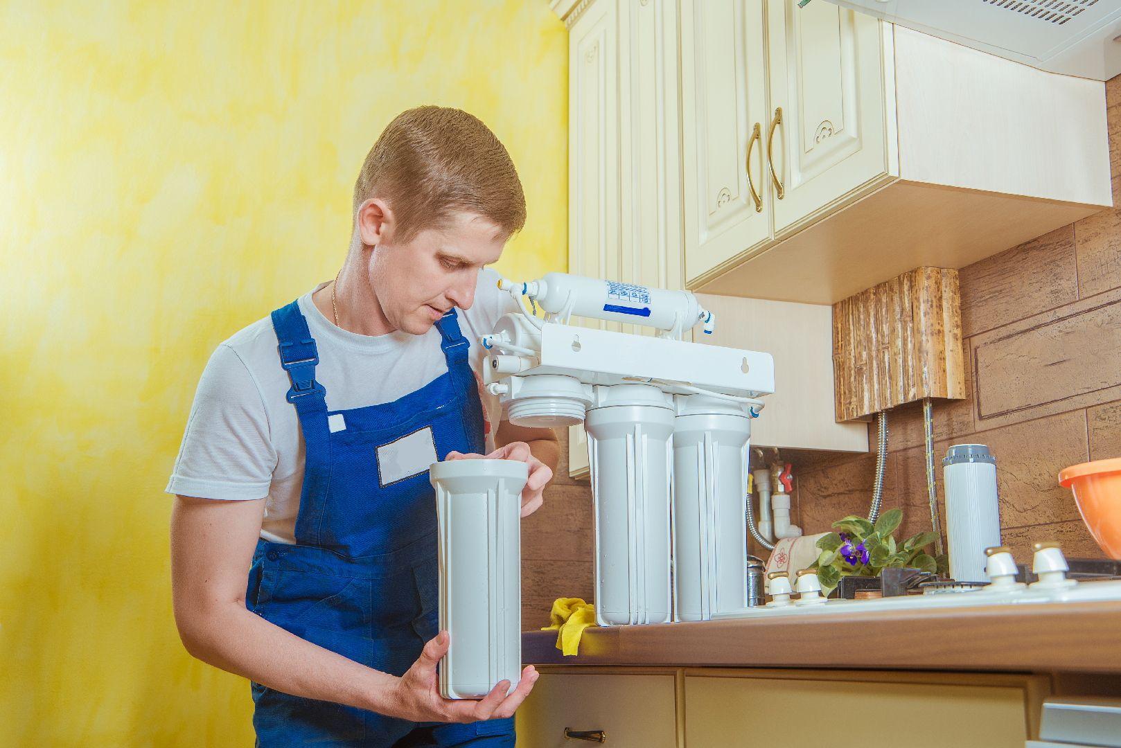 Delannoy Plomberie | installation d'adoucisseur d'eau à Étampes (91)